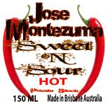 Jose Montezuma Chilli Chili Sauces Hot Sauce Sweet N Sour
