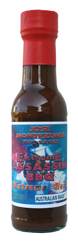 Jose Montezuma Chilli Chili Sauces Hot Sauce Extreme-Assassin BBQ