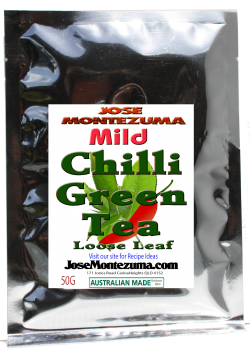 Jose Montezuma Chilli Chili Sauces Hot Sauce Chilli Green Tea Mild